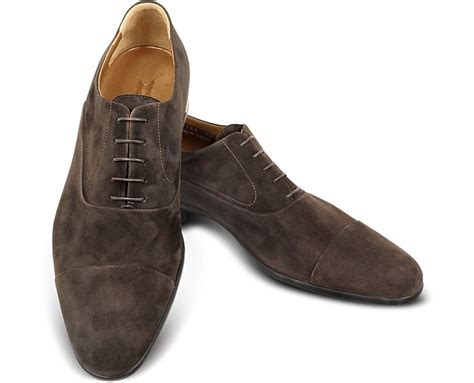 brown suede oxford shoes moreschi dublin brown suede cap toe oxford shoes 6 us