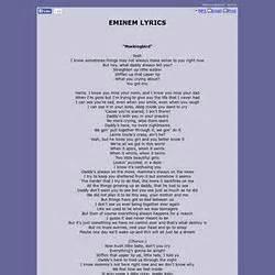 eminem mockingbird lyrics to kill a mockingbird pearltrees