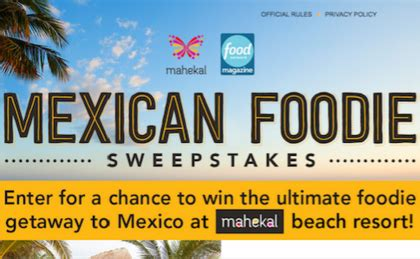 Food Network Magazine Sweepstakes - sweepstakes giveaways contests sun sweeps