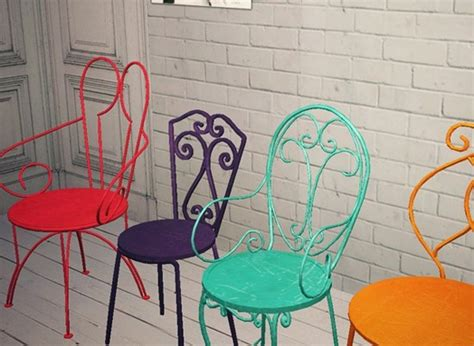color metal chairs home ideas
