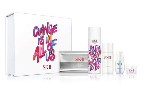 Sk Ii Set the acclaimed sk ii treatment essence goes boldly