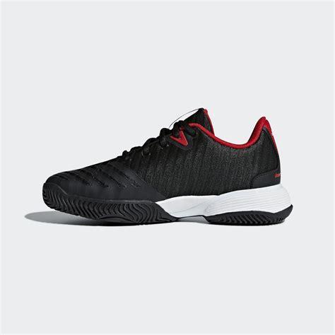 adidas barricade 2018 tennis shoes black white tennisnuts