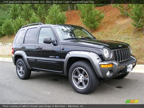 Jeep Liberty Freedom Edition 2003 2003 Jeep Liberty Freedom Edition 4x4 In Black Clearcoat