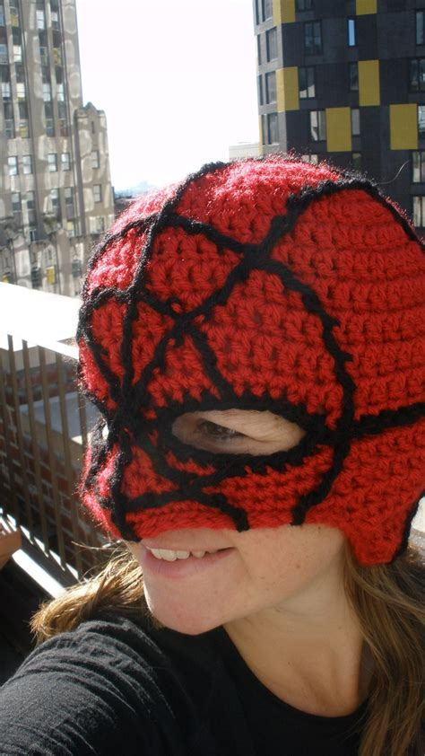 spiderman pattern crochet custom order spider man mask reserved for jbikel