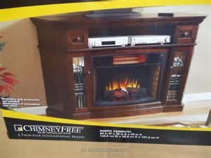 Dresser Desk Combo Media Mantel Infrared Fireplace