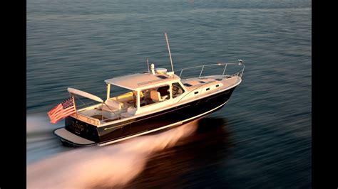 boating magazine boat test of the mjm yachts 40z by boating magazine youtube