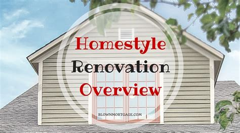 fannie mae homestyle renovation overview