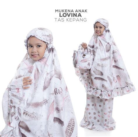 Mukena Ibu Anak Katun Jepang Batik Biru Kepang mukena katun jepang model terbaru 2017 grosir mukena murah