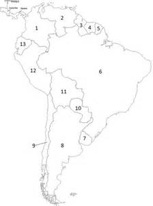 south america political map quiz by bmueller