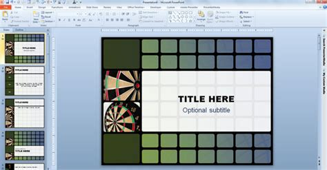 free animated templates for powerpoint 2010 free animated darts template for powerpoint 2010