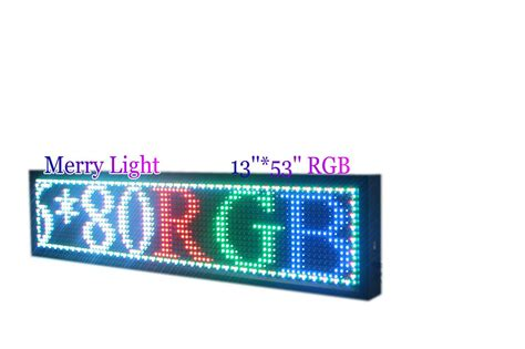 Led Display Board free shipping color led display with ph16 rgb led sign board display portable advertising