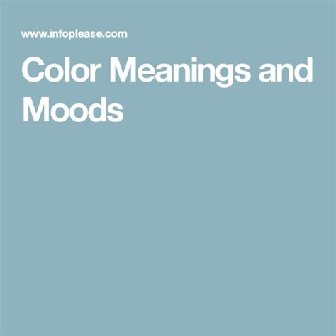 25 best ideas about mood color meanings on pinterest the 25 best ideas about mood color meanings on pinterest