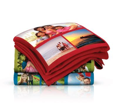 Customized Blankets With Photos by Custom Photo Collage 40 Quot X 60 Quot Fleece Blanket Up To 30