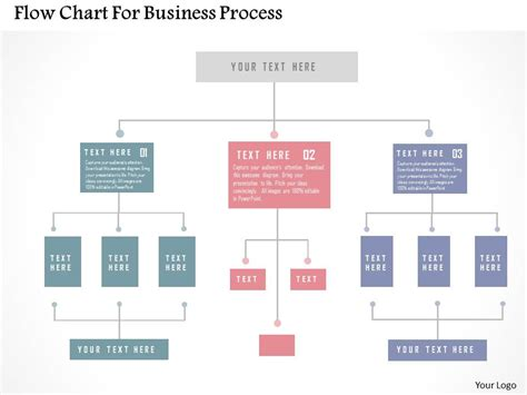 Flow Chart For Business Process Flat Powerpoint Design Presentation Graphics Presentation Inventory Flow Chart Templates