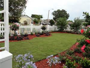 fence line landscaping updating your landscape design construction landscape