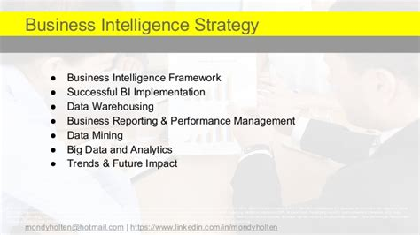 Business Intelligence Strategy Business Intelligence Strategy Document Template