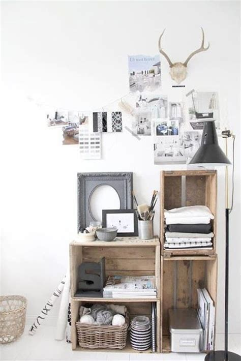 wooden crate shelves 20 rustic diy wooden crate ideas home design and interior