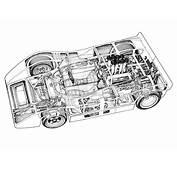 McLaren M8A Cutaway Drawing In High Quality