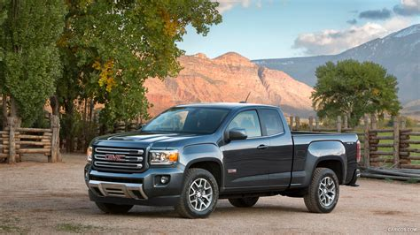 gmc canyon bed size 2015 gmc canyon all terrain sle ext cab short bed front