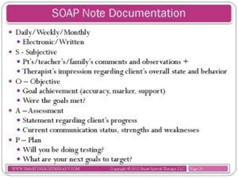 17 Best Images About Soap Notes On Pinterest Medical Mental Health And Health Soap Note Template Occupational Therapy