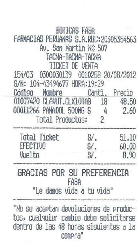 ejemplo de ticket de compra documentos mercantiles monografias com