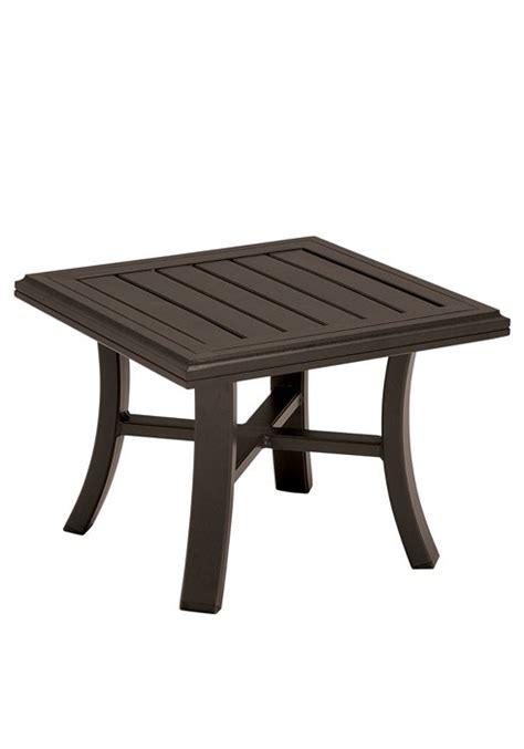 Tropitone Patio Table Tea Table 24 Quot Square Banchetto Hauser S Patio