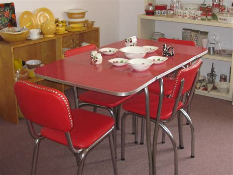 Vintage Kitchen Furniture by Attachment Retro Kitchen Tables And Chairs 981