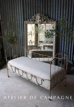 Shabby Chic Haus 6860 by Frankreich Antikes Eisen Kinderbett Metallbett Gitterbettt