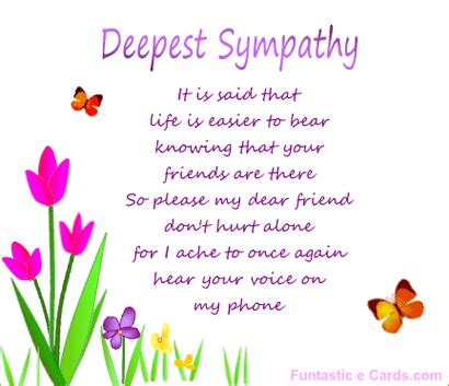 deepest sympathy words of comfort card message deepest sympathy friend