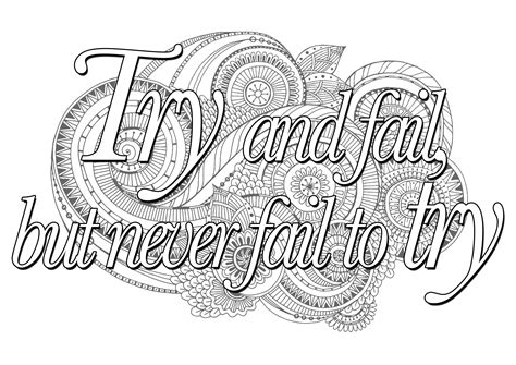 coloring quotes printable inspirational quotes coloring pages gallery