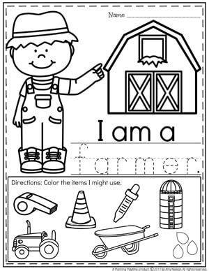 community helpers preschool theme community helper