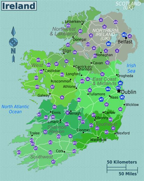 irish county becomes first in english speaking world to ireland travel guide at wikivoyage