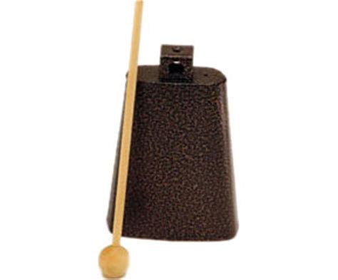 rhythm band rb1221 5 3 4 quot cowbell with mallet and more