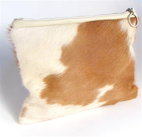 Cowhide Clutch - cowhide clutch purse yves laurent rive gauche handbag