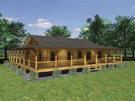 log cabin wrap around porch log homes and rustic decor small home plans with wrap around porch 3d small house