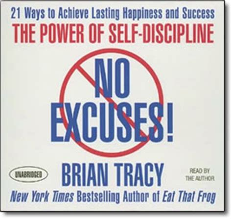 libro no excuses the power no excuses the power of self discipline by brian tracy cds or mp3 discount