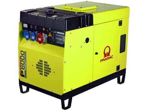 14 0057 h silenced generator diesel 6kva