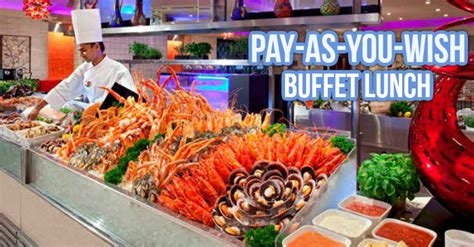 carousel new year buffet pay as you wish buffet lunch for carousel s 10th