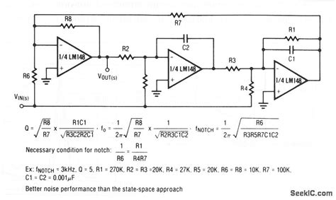 notch filter integrated circuit notch filter integrated circuit 28 images notch filter integrated circuit 28 images bi notch
