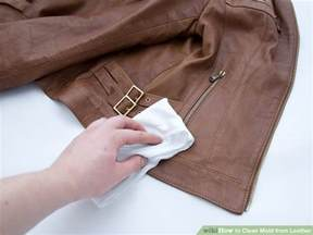 how to remove mold from leather couch 4 ways to clean mold from leather wikihow