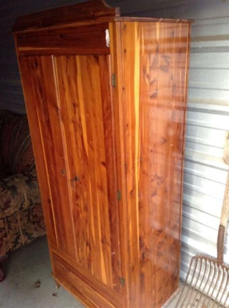 cedar armoire for sale cedar armoire key works see comments for more pics nice