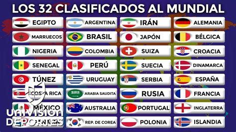 Listado Con Todos Los Nominados A La 91 Edici 243 N De Los Premios 211 Scar El Imparcial Estos Todos Los 32 Clasificados A La Copa Mundial Rusia 2018