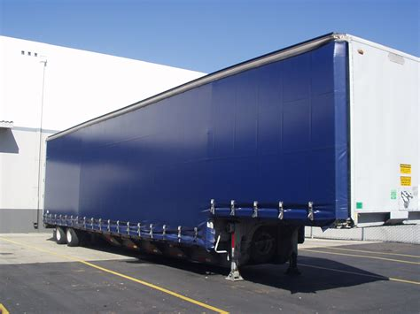 Flatbed Curtain Side Trailers Curtain Side Trailers Dimensions Crafts