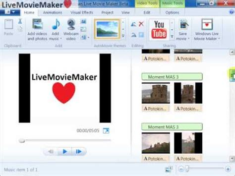 windows live movie maker tutorial youtube windows live movie maker tutorial 3 fit photos to