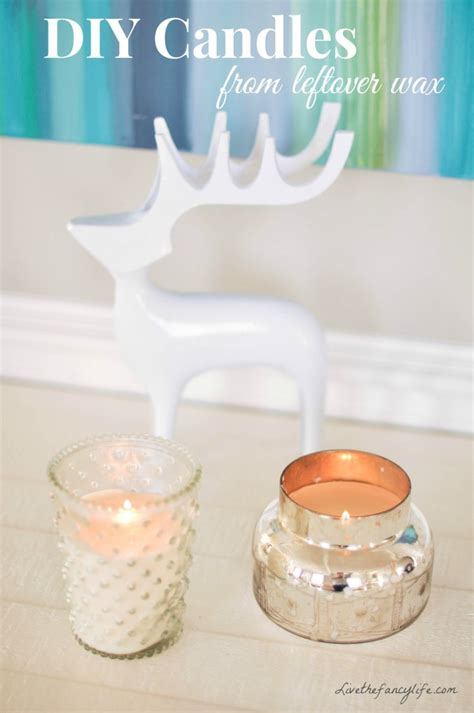 dwell beautiful shows you how to reuse candle jars and wax 25 diy candles for gifts decor and more