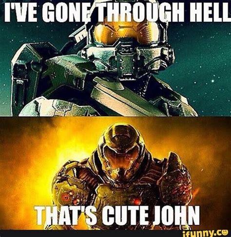 Doom Meme - doom vs halo video games amino