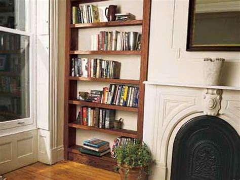 storage diy built in bookshelves corner book shelf
