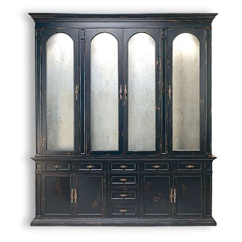 Library Cabinet With Glass Doors Biscayne Designs 445 With Antique Glass Doors Obd Storage Cabinet Estrella Library Discount