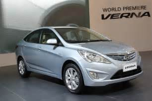verna car new model 2014 hyundai verna fluidic price review pics specs mileage