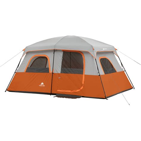 Ozark Trail Cabin Tents by Ozark Trail 9 Person 2 Room Instant Cabin Tent With Screen